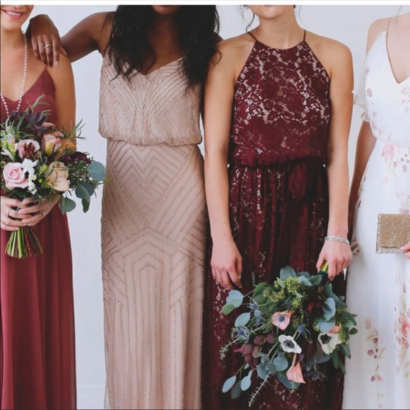 17613741b95 Bhldn Alana dress in cherry size 4